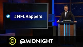 Brandon Johnson, the Sklar Brothers - #HashtagWars - #NFLRappers - @midnight