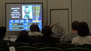 Another Anime Con 2012 - Who Wants to be a Millionaire? Anime Style! (HD Edited Footage)