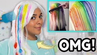 Beauty Busters: I Tried The Drip Dye Method! (SCARY!)