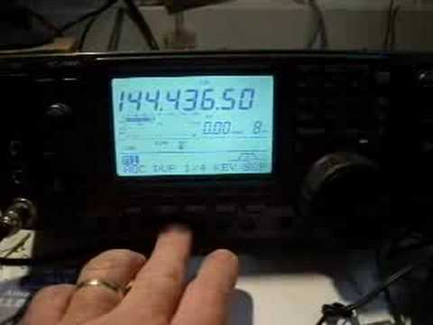 Listening to the VK3RRU 2 Metre CW Mildura Beacon