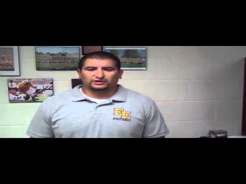 Interview With East High School Football Coach