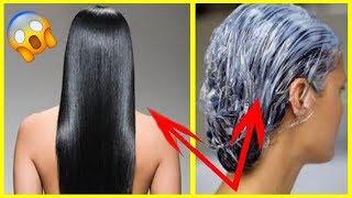 OLHA o que 1 colher desse PÓ no CONDICIONADOR faz com o teu CABELO na HORA #cabelo #cabeloslongos
