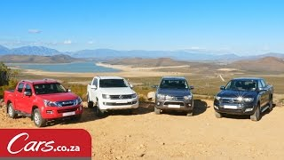 In-Depth Comparison: New Hilux vs Ranger vs Isuzu KB vs Amarok