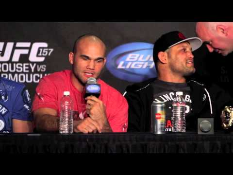 Robbie Lawler UFC 157 Press Conference PostFight