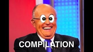Rudy Giuliani Crazy Interview Compilation