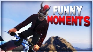 GTA 5 Funny Moments! Gunrunning DLC, Flying Bikes!