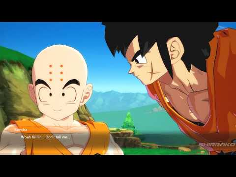 Dragon Ball FighterZ - Krillin Likes Android 21 & Jealous Android 18
