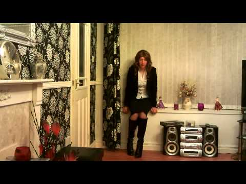 Crossdresser In Black Skirt And Just Fab Boots 24 09 2014