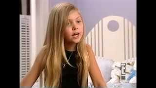 Taylor Momsen interview 2000.She sings too..