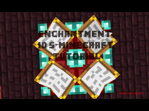 Enchantment ID's-Minecraft Tutorial DOES NOT WORK IN 1.6!!!!!