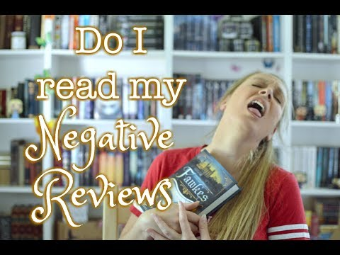 DO I READ MY NEGATIVE REVIEWS? - An Author's Take on Book Reviews
