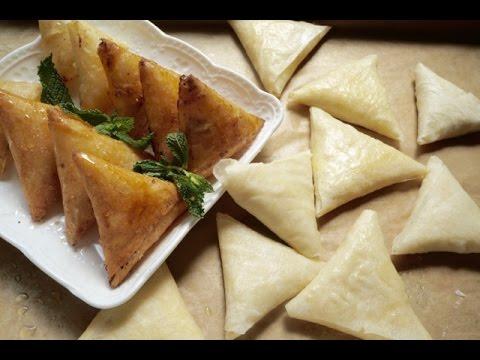 بريوات بالجبن و اللوز مع كيفية الاحتفاض بها في المجمد وصفات رمضانية 2016