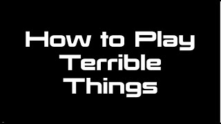 "Drum Tutorial for ""Terrible Things"" by Brick + Mortar"