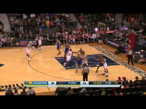 Kyle Korver Extends His Three Pointer Streak   Warriors vs Hawks   January 3  2014   NBA 2013 14