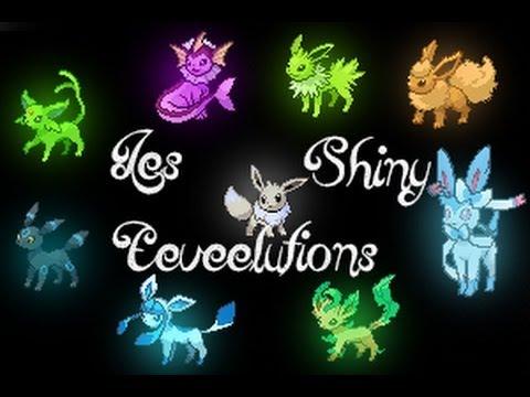 Pok mon x y toutes les volutions d 39 voli shiny all - Toute les evolution pokemon ...