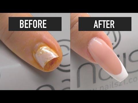 How to repair a broken nail - Nails 21