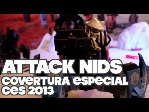 CES 2013   Attack Nids: Robots de Guerra!!!
