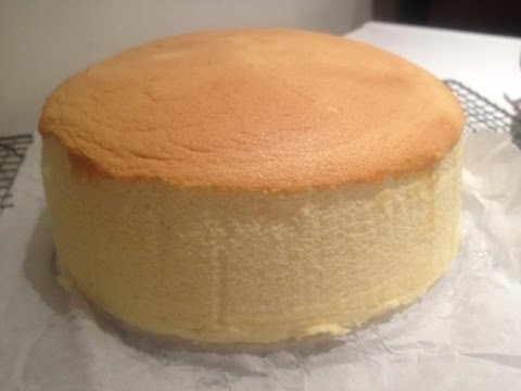 Japanese Cotton Cheese Cake- Minimize Shrinkage
