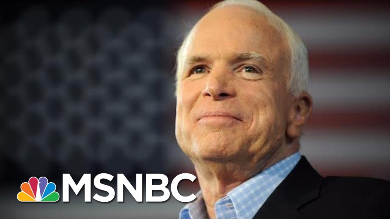 Sen. John McCain To Lie In State At The U.S. Capitol | MSNBC