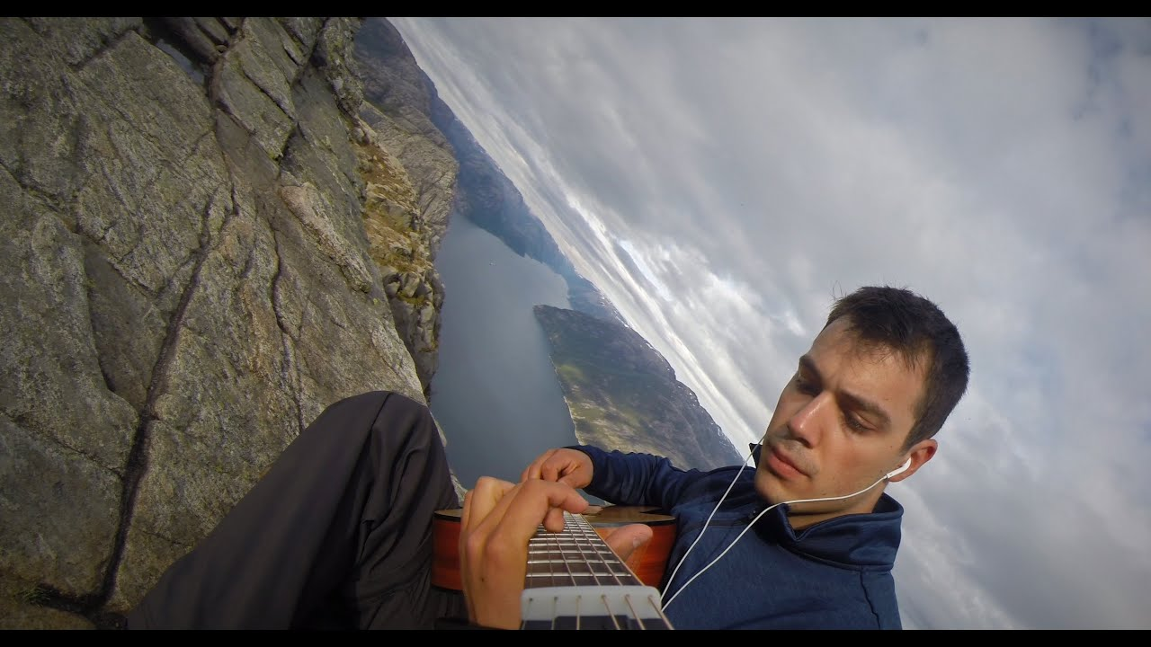 [Me, My Guitar, And The Fjords Of Norway] Video