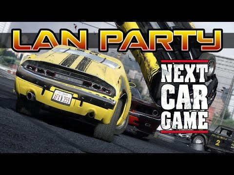 NEXT CAR GAME - Derby Dash - LAN Party
