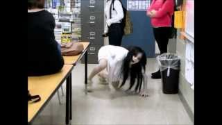 The Grudge Cosplay at School