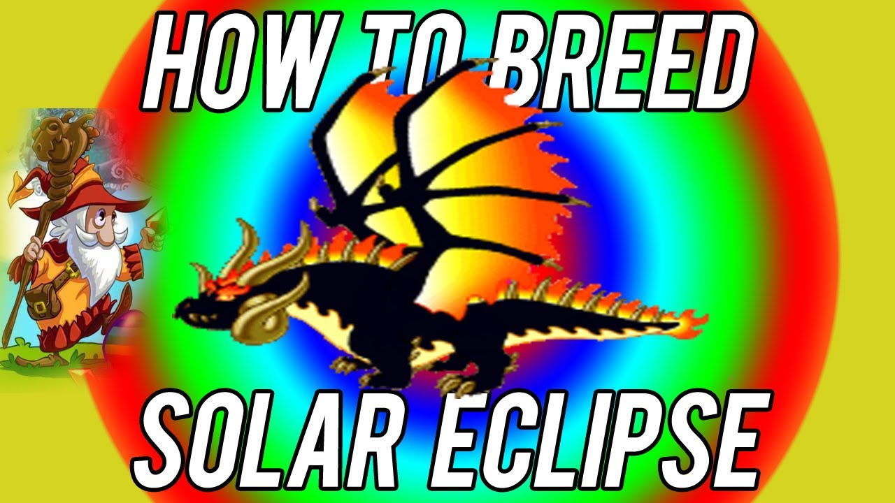 How to Breed - Solar Eclipse dragon FIRST TRY Dragonvale ...