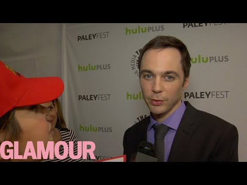 Jim parsons sings the big bang theory theme song glamour