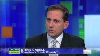 "Steve Carell on life after ""The Office"""