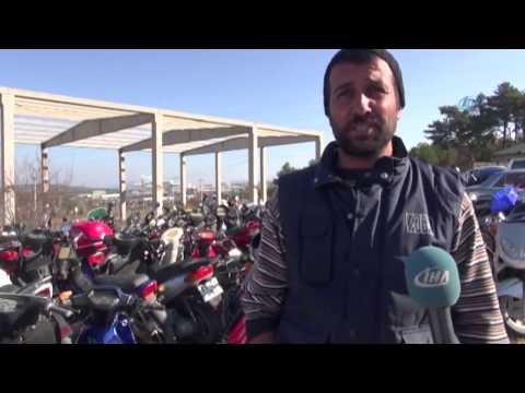 1 Milyon Lira Değerindeki Motosikletler Çürümeyi Bekliyor