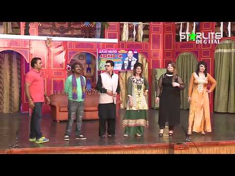 Asif Iqbal and Abid Charlie New Pakistani Stage Drama Full Comedy Clip