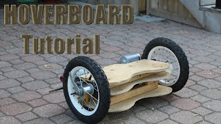 How to Make a Homemade Hoverboard