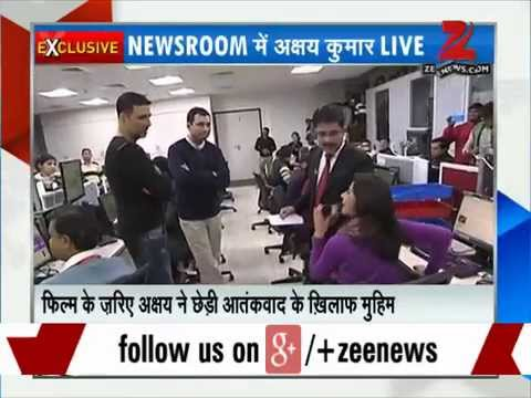 Zee Media Exclusive: Akshay Kumar, Anupam Kher talk about their upcoming film 'Baby'