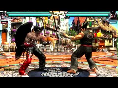 Tekken Tag Tournament 2 Kane vs Mike Malari - sdcc 11