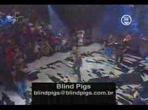 Blind Pigs - conformismo e resistencia live!
