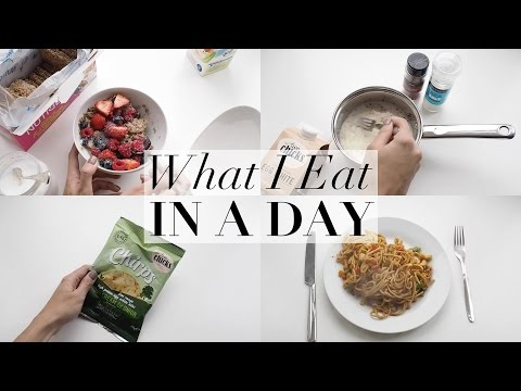 WHAT I EAT IN A DAY | Lydia Elise Millen | ad