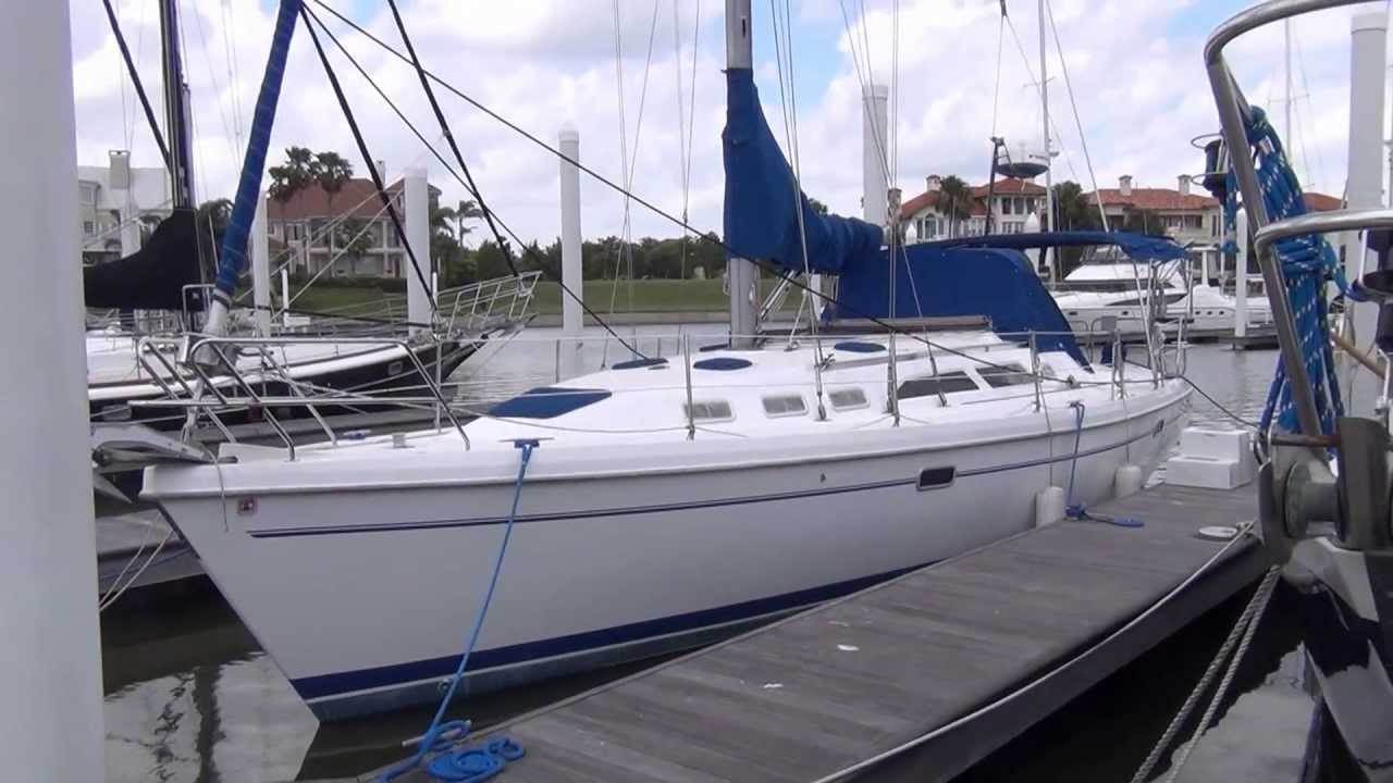 SOLD Catalina 380 Captive Princess Sailboat For Sale