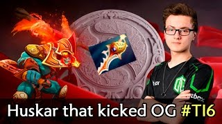Huskar + Dazzle that kicked OG off The International 2016 by TnC — Miracle last game in OG