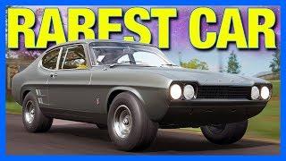 Forza Horizon 4 Online : THE RAREST CAR!! (Ford Capri Forza Edition)