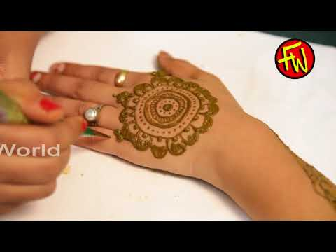UNIQUE FULL HAND MANDALA HENNA DESIGN