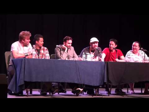 Voice Actor Roundtable at AWA - Todd Haberkorn, Chris Sabat, Vic Mignogna etc.