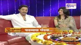 Shreyas Talpade and Deepti in Diwali Special show  Seg 1