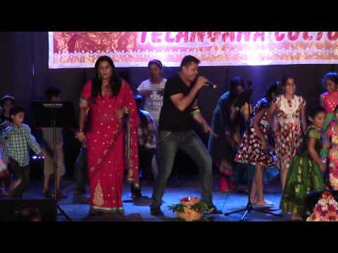 Anuj, Nitya sing Ituraaye at Telangana Formation Day on June 14th 2015 by DATA