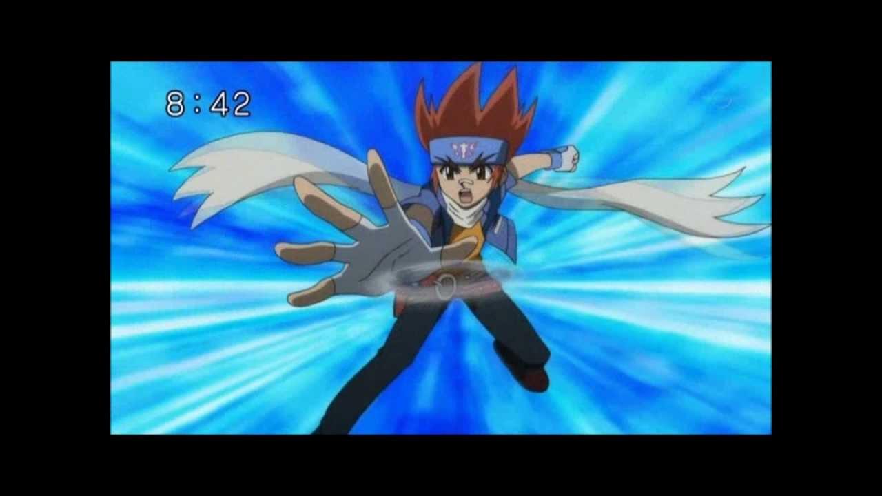 Beyblade Hikaru vs Ryuga Beyblade Ginga y Hikaru
