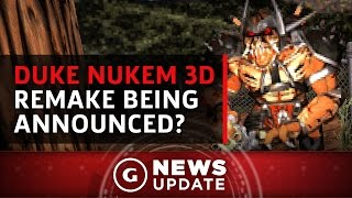 Duke Nukem 3D Remake Reportedly Being Announced Next Week - GS News Update