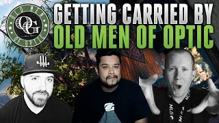 Crazy 1v4 with Old Men of OpTic