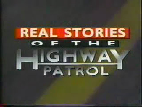 real Stories Of The Highway Patrol Intro (1995) video