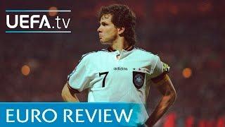 EURO 96 highlights: England v Germany the full penalty shootout