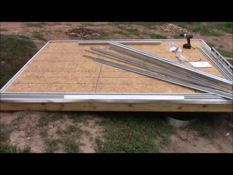 How To: Build a Shed on Posts Part 3 #simplelife #DIY