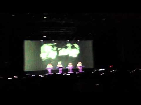 Sonar by night 2013 - Kraftwerk 3D - The model